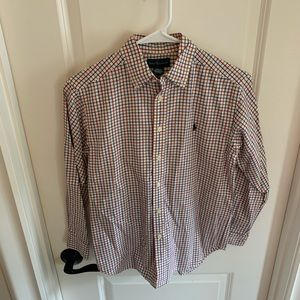 Boys Ralph Lauren button up shirt